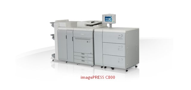 Canon i-PRESS C800 Driver Download